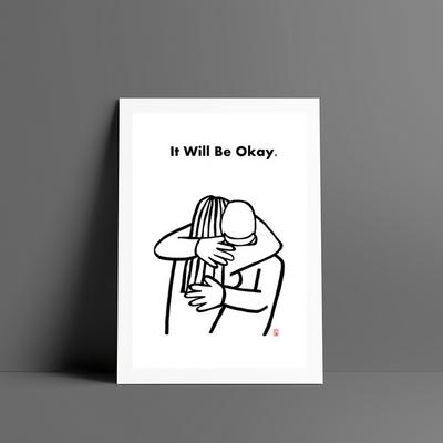 잘될거야 It will be okay 엽서
