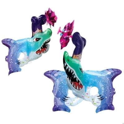 컬러룬 바람개비 마스크 상어