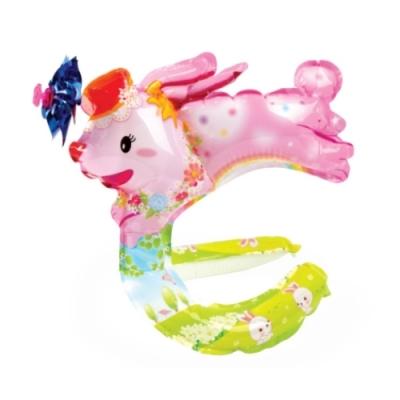 컬러룬 바람개비 모자 토끼
