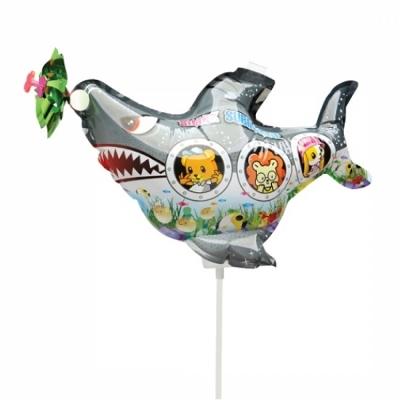 컬러룬 바람개비 풍선 상어 잠수함