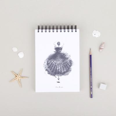 바다위에서 스케치북 A5