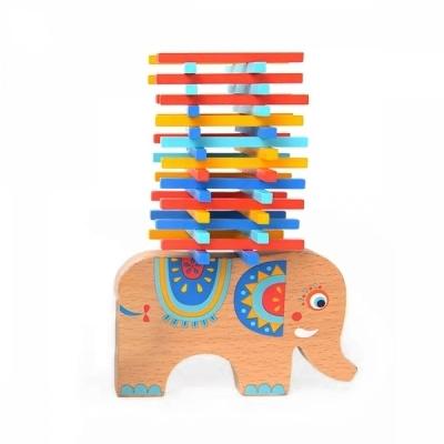 미디어 코끼리 균형잡기 막대놀이 (MD1050)