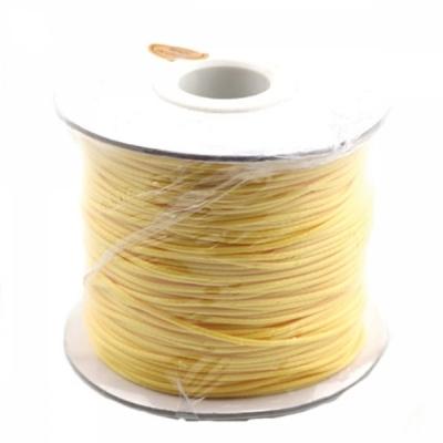 유니아트 5000 왁스끈 (노랑)