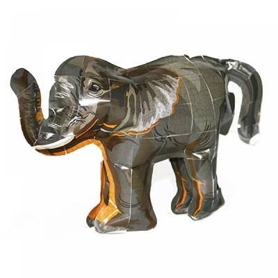 컬러룬 3D퍼즐 스티커 코끼리 (5인)