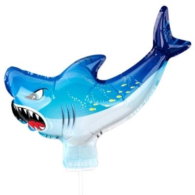 컬러룬 캐릭터풍선 상어