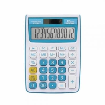 모닝글로리 칼라 계산기 (ECD-802) (블루)