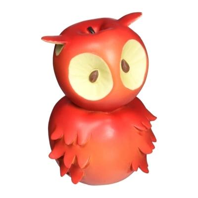 에네스코 사과 올빼미 피규어 (G4010830)