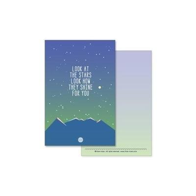 엽서 - LOOK AT THE STARS