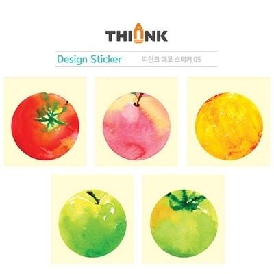 디자인 스티커 5종세트 (데코-인덱스 스티커)