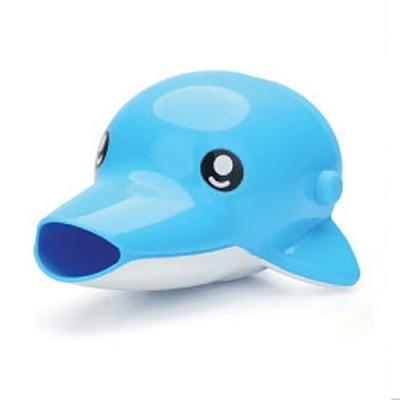 에디슨 스스로 수도꼭지 돌고래 (블루)