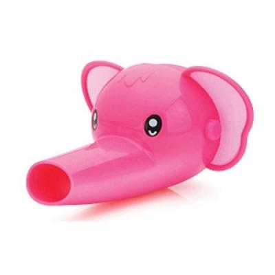 에디슨 스스로 수도꼭지 코끼리 (핑크)