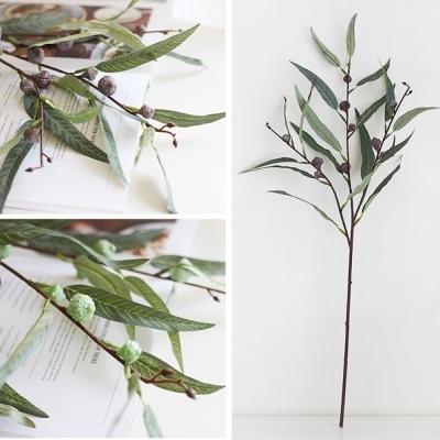 윌로우 열매 유칼립투스 가지 조화 (2color)