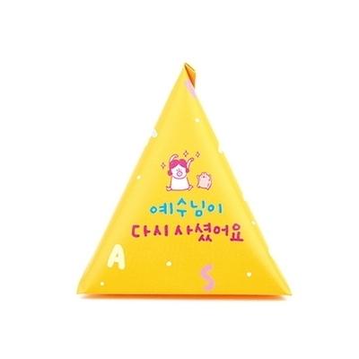 부활절 1구 삼각형 봉투(10매)_든든옐로우607