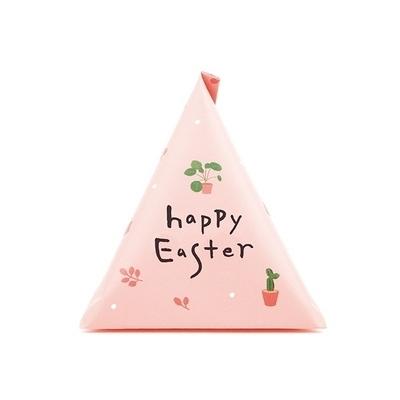 부활절 1구 삼각형 봉투(10매)_핑크610