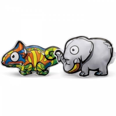 컬러룬 동물원 코끼리.카멜레온 (10pcs)