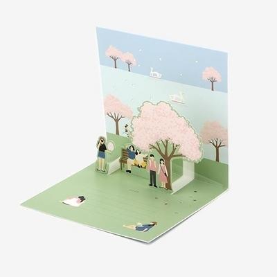 팝업 카드 - 17 Cherry blossom