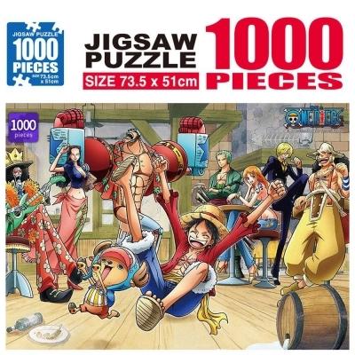 학산문화사 원피스 직소퍼즐 1000pcs (파티타임)