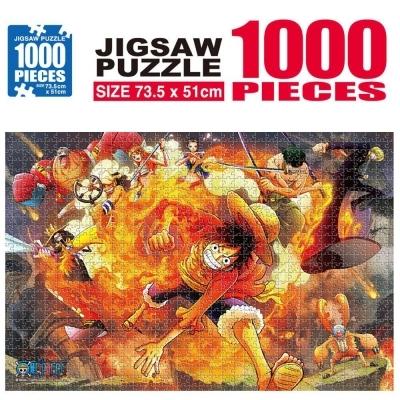 학산문화사 원피스 직소퍼즐 1000pcs (불굴의 투지)