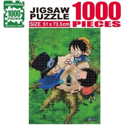 학산문화사 원피스 직소퍼즐 1000pcs (결의)