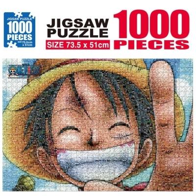학산문화사 원피스 직소퍼즐 1000pcs (모자이크 루피)