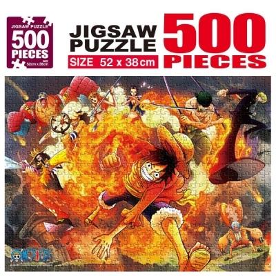 학산문화사 원피스 직소퍼즐 500pcs (불굴의 투지)