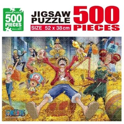 학산문화사 원피스 직소퍼즐 500pcs (보물더미)