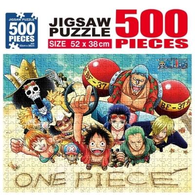 학산문화사 원피스 직소퍼즐 500pcs (스마일)