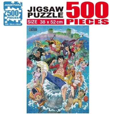 학산문화사 원피스 직소퍼즐 500pcs (워터월드)