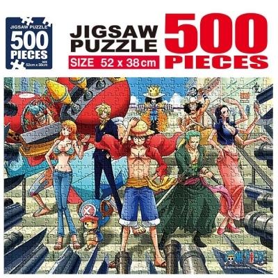 학산문화사 원피스 직소퍼즐 500pcs (자유)