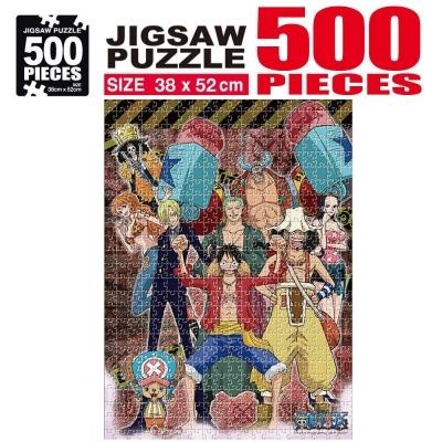 학산문화사 원피스 직소퍼즐 500pcs (파이팅)