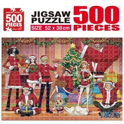 학산문화사 원피스 직소퍼즐 500pcs (크리스마스)