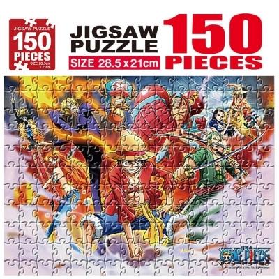 학산문화사 원피스 직소퍼즐 150pcs (각자의 능력)