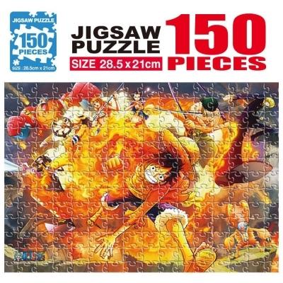 학산문화사 원피스 직소퍼즐 150pcs (불굴의 투지)