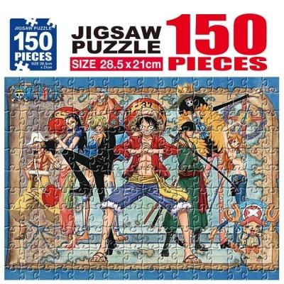학산문화사 원피스 직소퍼즐 150pcs (출동준비)