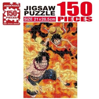 학산문화사 원피스 직소퍼즐 150pcs (에이스 루피)