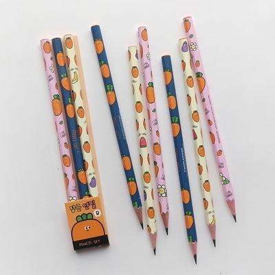 1000 당근 연필 3본세트 (B심)