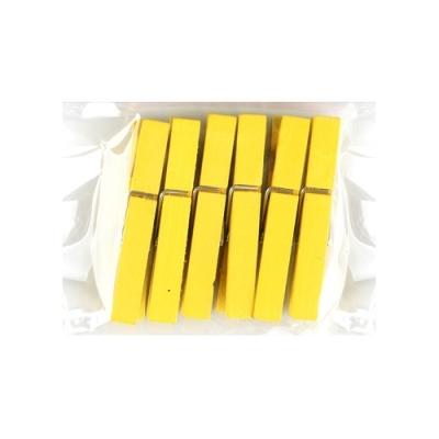 유니아트 1200 나무집게 (특대) (노랑)