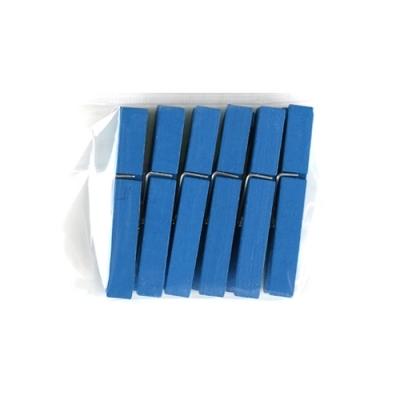 유니아트 1200 나무집게 (특대) (파랑)