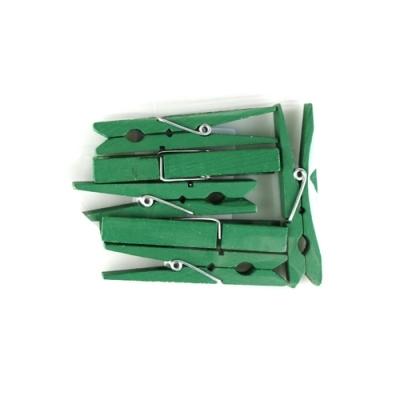 유니아트 1200 나무집게 (특대) (초록)