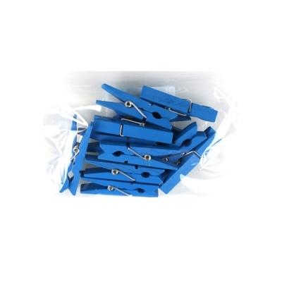 유니아트 1200 나무집게 (대) (파랑)
