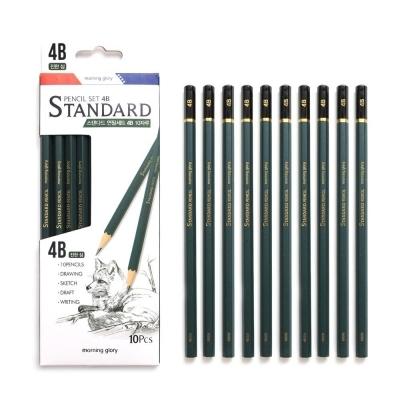 모닝글로리 스탠다드 연필세트 4B 1다스 (10개입)