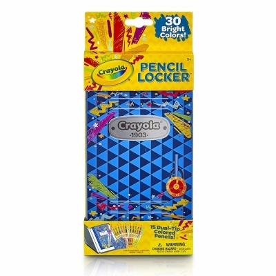 크레욜라 양면색연필 15개 (듀얼팁 30색) (틴케이스) (046841)