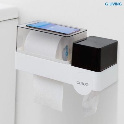 굿리빙 화장실 휴지걸이 및 다용도 매직보관함 (GMC-990)