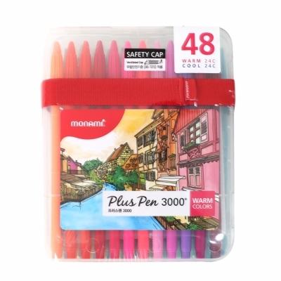 Plus Pen 3000 (PP:48C) 프러스펜 48색세트