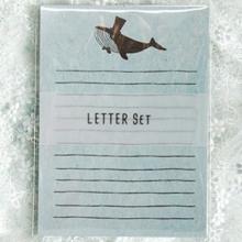 편지지 YL-39 고래패턴 레터세트