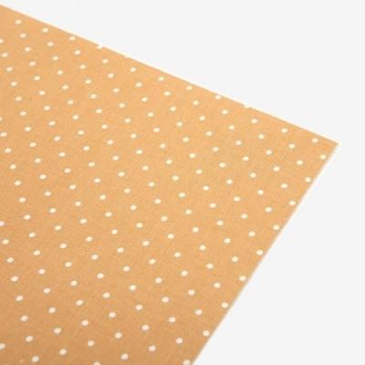 Fabric sticker - 104 Flower field : yellow dot