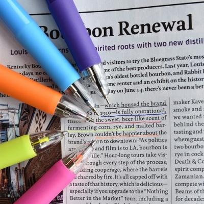 5way Color Pen (형광피치-형광옐로우 포함 5색심)