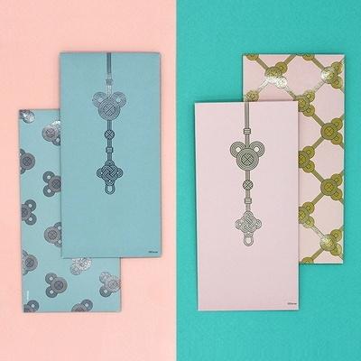 디즈니 미키마우스 매듭 봉투세트