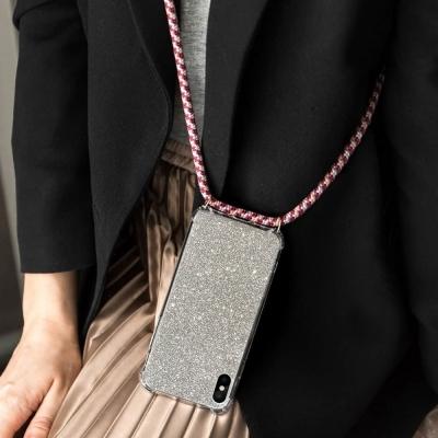 아이폰11 메탈릭 글리터펄 핸드폰 목걸이 스트랩케이스