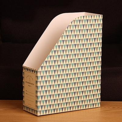 스칸디나비아 패턴 파일박스 트라이앵글.01